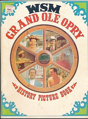 1969 WSM Grand Ole Opry Country & Western History Picture Book / Ernest Tubb