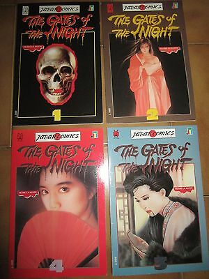 Play press 1991 THE GATES OF THE NIGHT Japan Comics Serie completa