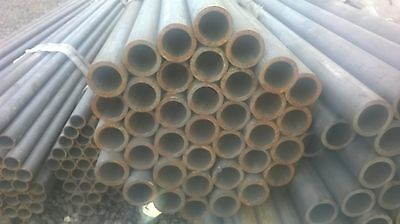 "steel tube metal pipe iron 54mm (2"") outside diameter 7mm wall 6m lengths"