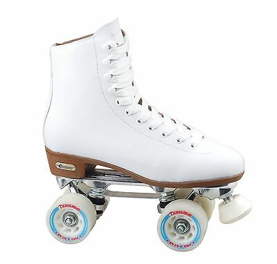 Chicago Women's Leather Lined Rink Skate White 5