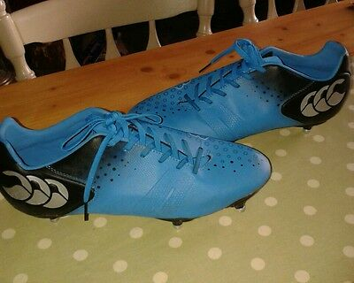 Mens Canterbury rugby boots size 11. Hardly used