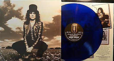Marc Bolan / T.rex : 'skycloaked Lord Of Precious Light' 1972 Blue Vinyl Lp