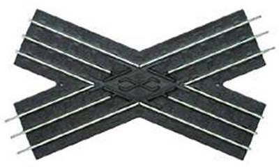 O-27, 10-1/4 Inch Cossover Track Section, 45 Degrees, Lionel, 6-65023