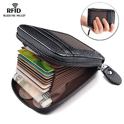 Best RFID Blocking Wallet for Men and Women Security Card Holder for Travel a...
