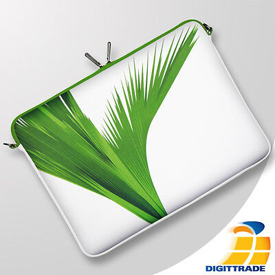 DIGITTRADE LS138-15 Green Notebook Sleeve Neopren Laptop Tasche Hülle bis 15,6""
