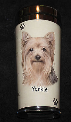 Yorkshire Terrier Yorkie Dog Stainless Steel Insulated Travel Tumbler Thermos