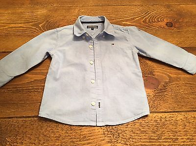 Authentic Tommy Hilfiger Boys Shirt Age 9-12 Months