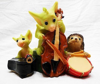 """Whimsical World Of Pocket Dragons """"Quartet"""" by Real Musgrave"""