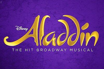 Aladdin - royal box seats with bubbly and snack included - Sat 11 Feb - 8pm