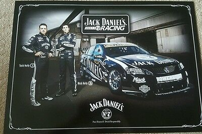 Jack Daniels/ Kelly Bros./ Holden Racing Team poster. Brand New condition!!