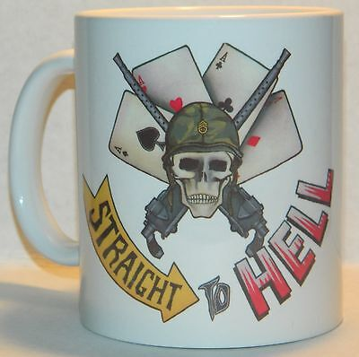 THE CLASH 'STRAIGHT TO HELL' - STUNNING 70's REPRODUCTION 11oz COLLECTORS MUG -