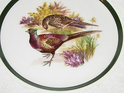 Vintage Lord Nelson Set of 3  Plates Mallards,Pheasants Grouse Cuthbertson
