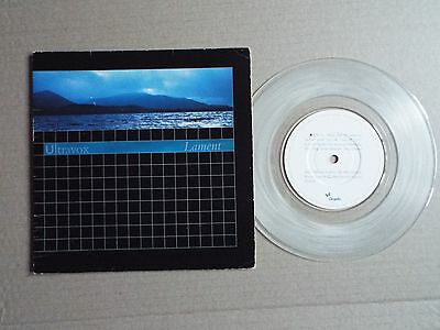 "Ultravox - Lament / Heart of the country instr. 7""single"
