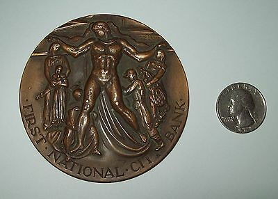 First National City Bank of New York 1812-1962 150 yr Commemorative Bronze Coin