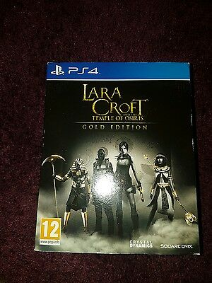 Lara Croft and the Temple of Osiris -- Gold Edition (Sony PlayStation 4, 2014) …
