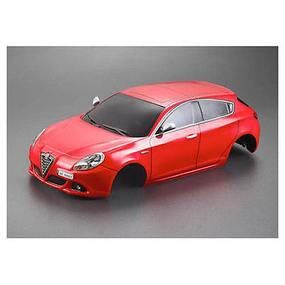 KillerBody Alfa Romeo Giulietta 2010-195mm Body Red-RTU - KB48560