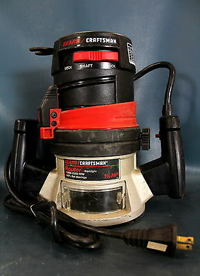 Sears/Craftsman 315.174720 Double insulated 15-25000 RPM Router