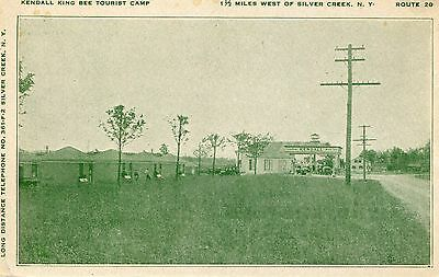 Vintage Postcard of the Kendall King Bee Tourist Camp
