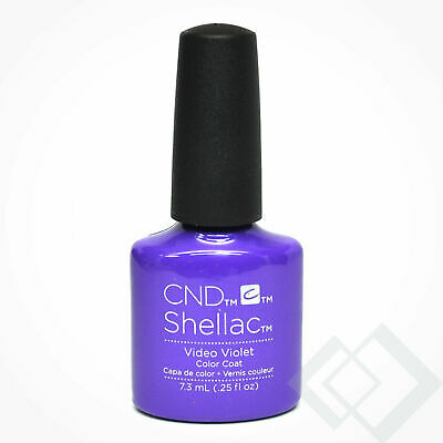 CND Shellac LED/UV Gel Polish - .25oz (Video Violet) C91409