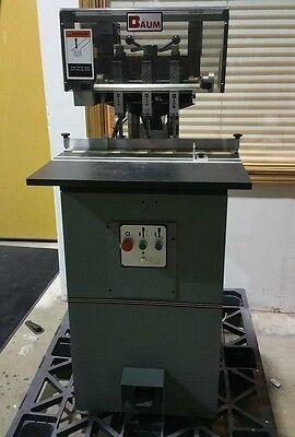 Baum ND5A 3 Spindle Paper Drill