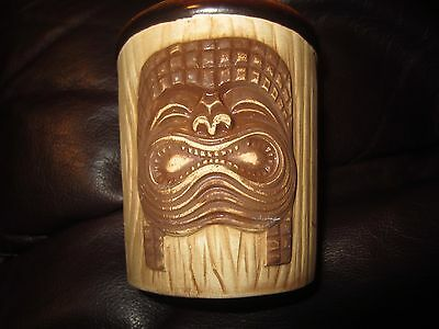 Vintage Tiki Mug from Kono Hawaii of Santa Ana California