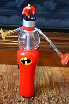 The Incredibles Spinning Wand Toy Lights Up Works Disney Pixar Souvenir RARE