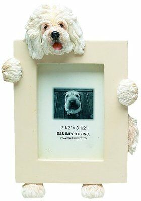 Old English Sheepdog Dog Picture Photo Frame