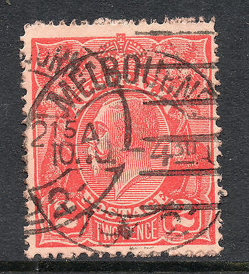 AUSTRALIA = GV 2d `Head`. SG63 / 63a. Used. Unchecked for Shades, etc. (cr)