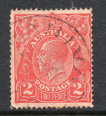 AUSTRALIA = GV 2d `Head`. SG63 / 63a. Used. Unchecked for Shades, etc. (co)