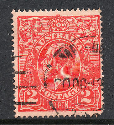 AUSTRALIA = GV 2d `Head`. SG63 / 63a. Used. Unchecked for Shades, etc. (cp)