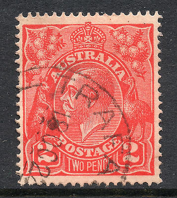 AUSTRALIA = GV 2d `Head`. SG63 / 63a. Used. Unchecked for Shades, etc. (cq)