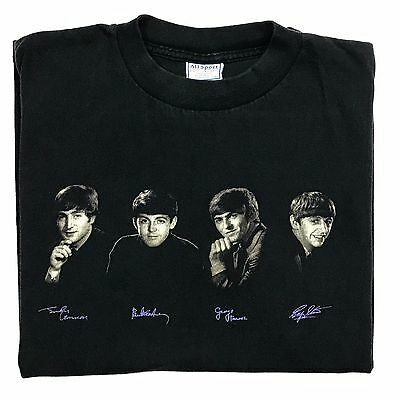 THE BEATLES Shirt Vintage Graphic Shirt Band Ringo George Rock & Roll 1990s