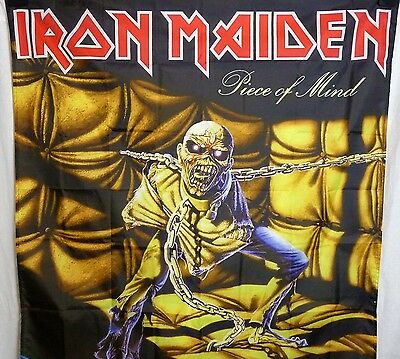 Iron Maiden Piece of Mind HUGE 4X4 banner poster tapestry