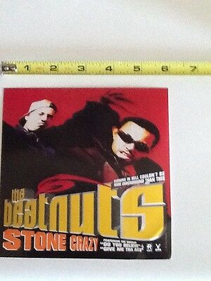 beatnuts stone crazy promo sticker do you believe lp relativity records
