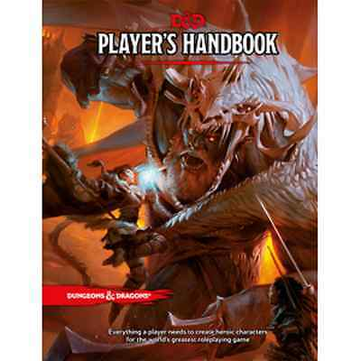 Free U.K. Postage! Dungeons and Dragons RPG Players Handbook 5th Edition