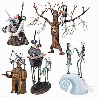 NIGHTMARE BEFORE CHRISTMAS Figure Collection Special Part 2 Yujin Set of 5