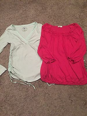 Old Navy Maternity Top/Shirt Lot - Size Medium