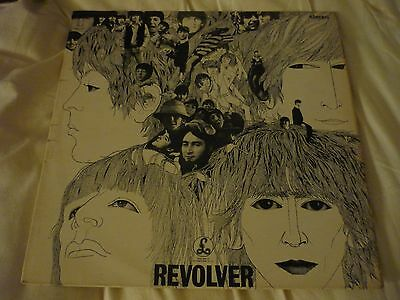 THE BEATLES 'REVOLVER' LP (STEREO PCS 7009) - in very good condition!!
