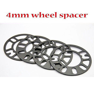 4pcs 4mm 4x100 5x100 4x114.3 5x114.3mm Wheel Spacer Corolla Celica MR2 MR-2