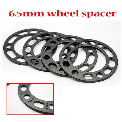 (4) 6.5MM WHEEL SPACERS 6X139.7 PCD 6 studs For NISSAN TOYOTA LANDCRUISER