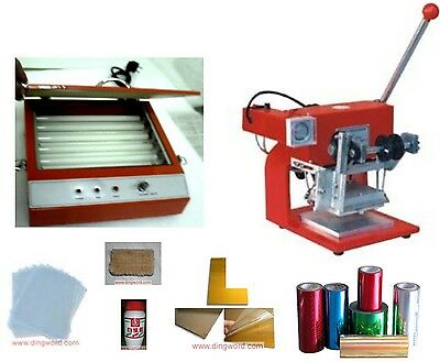 Hot foil stamping machine business start up complete package,TIPPER-T110
