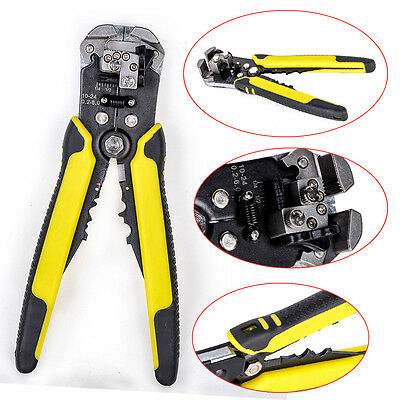 Multifunctional Automatic Electric Cable Wire Stripper Cutter Crimper Pliers New