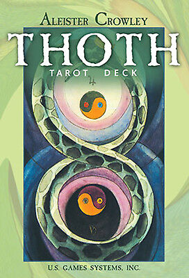 Thoth Tarot Large Edition NEW IN BOX Aleister Crowley Deck Cards US Games