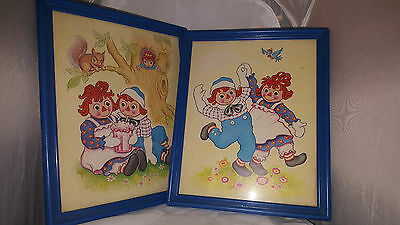Raggedy Ann & Andy Wall Hanging / Pictures