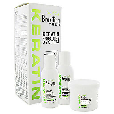 One N Only Brazilian Tech Keratin Smoothing System; 1 Application;