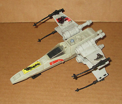 Vtg Star Wars Micro Collection X-Wing Fighter 1980's Kenner