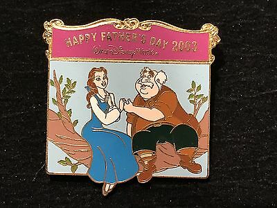 Disney WDW Maurice & Belle Happy Fathers Day 2003 pin LE 3500