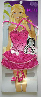 Lots Barbie Doll  Clothes & Shoes  & accessories No.11