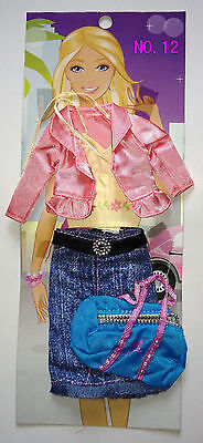 Lots Barbie Doll  Clothes & Shoes  & accessories No.12