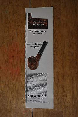 Kaywoodie Pipes 1971 Playboy Magazine ad - Very Good